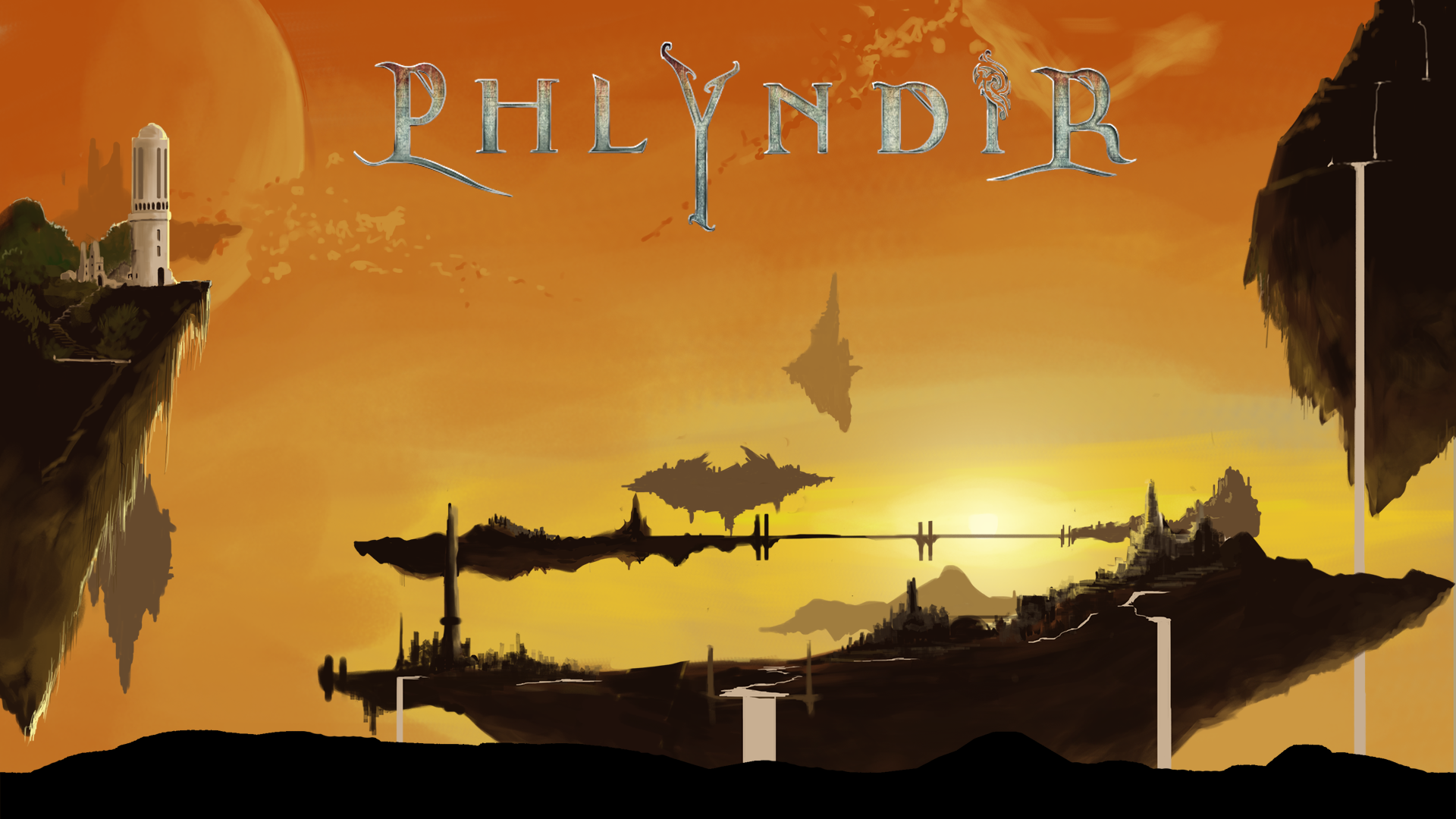 Phlyndir Title Screen